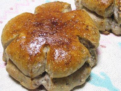 あこ天然酵母種で作る「くるみパン」