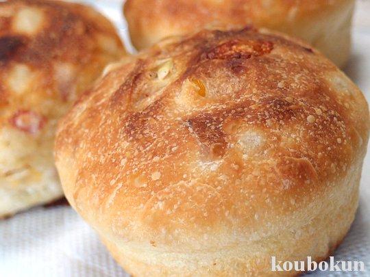 リーンな生地で作るオニオンパン