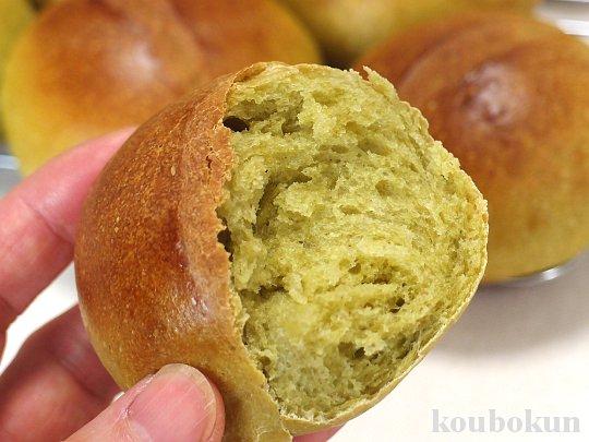 酒種酵母で作る「べにふうきパン」